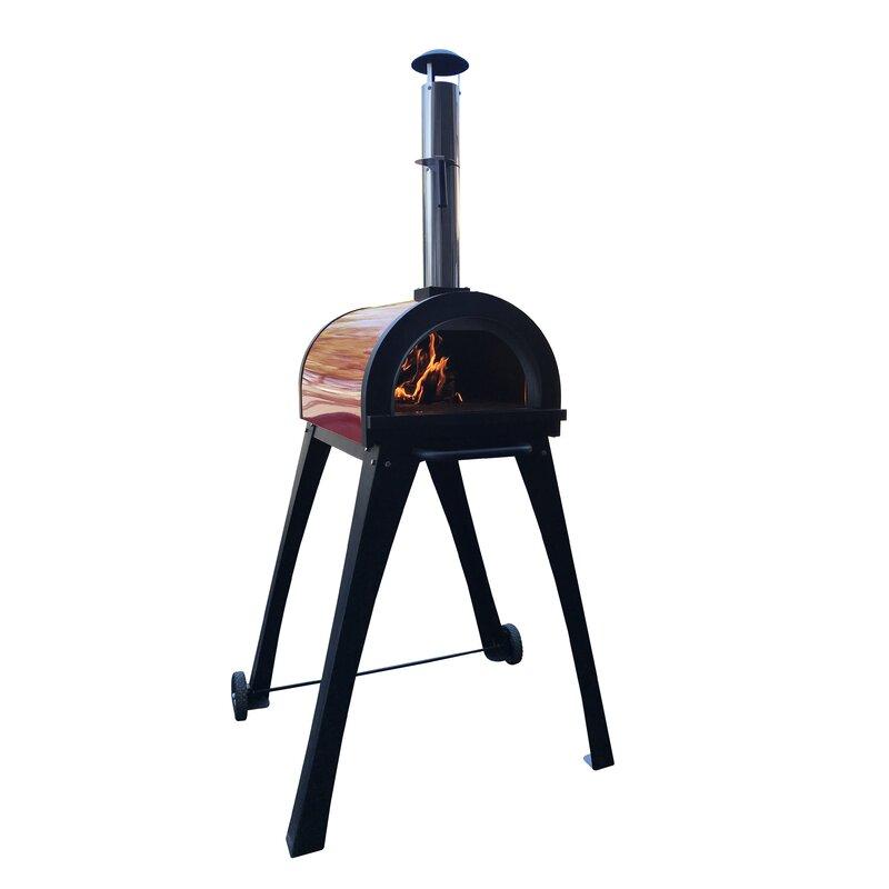 Ilfornino Piccolino Wood Fired Pizza Oven Wayfair