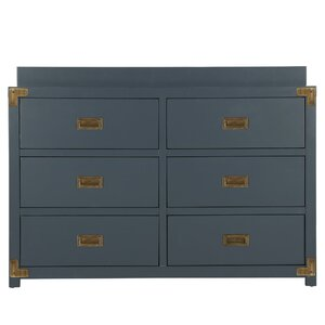 Agostino 6 Drawer Double Dresser