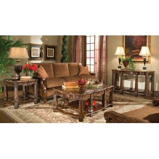 Windsor Court 3 Piece Coffee Table Set by Michael Amini