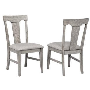 Vergara Upholstered Dining Chair (Set of 2) Ophelia & Co.