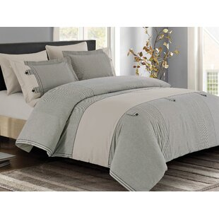 Chidley 3 Piece Duvet Cover Set