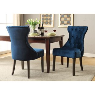 Delfin Upholstered Dining Chair (Set of 2)
