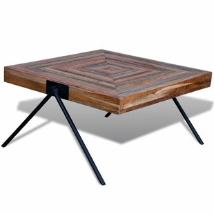 Aisha Reclaimed Teak V-shaped Legs Coffee Table