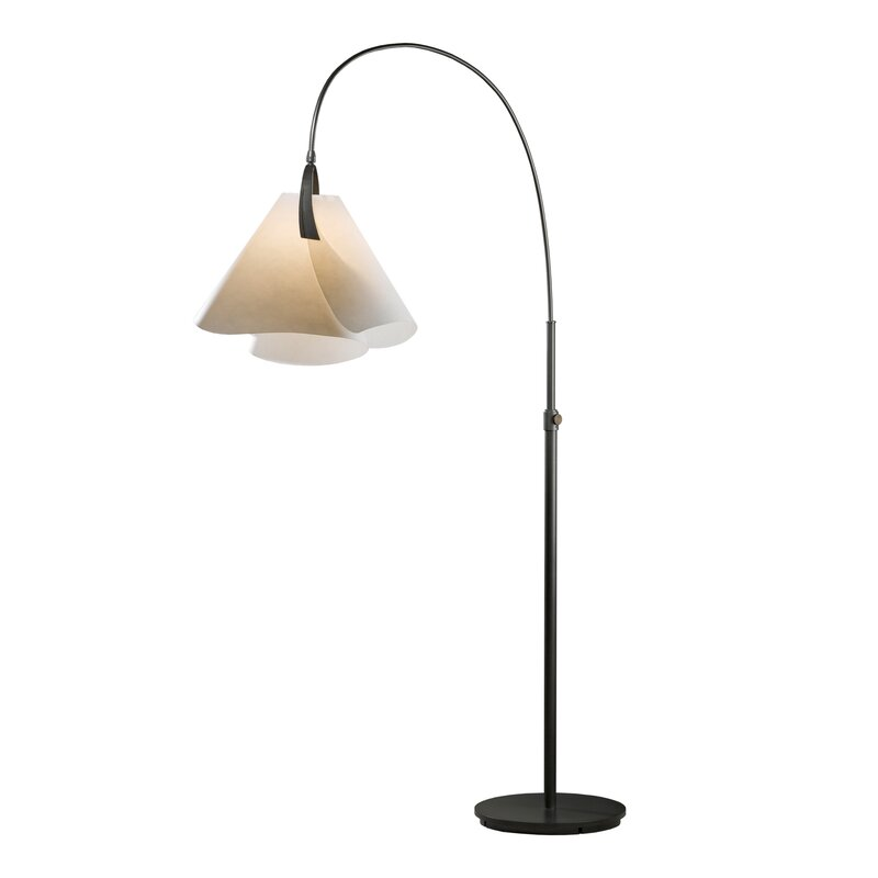 Hubbardton forge mobius 66 arched floor lamp wayfair mobius 66 arched floor lamp aloadofball Gallery