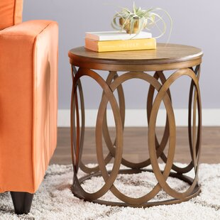 Savings Bleich End Table by Ivy Bronx