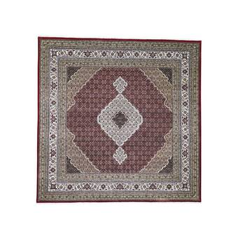 Kind Southa Hand Knotted Beige Red