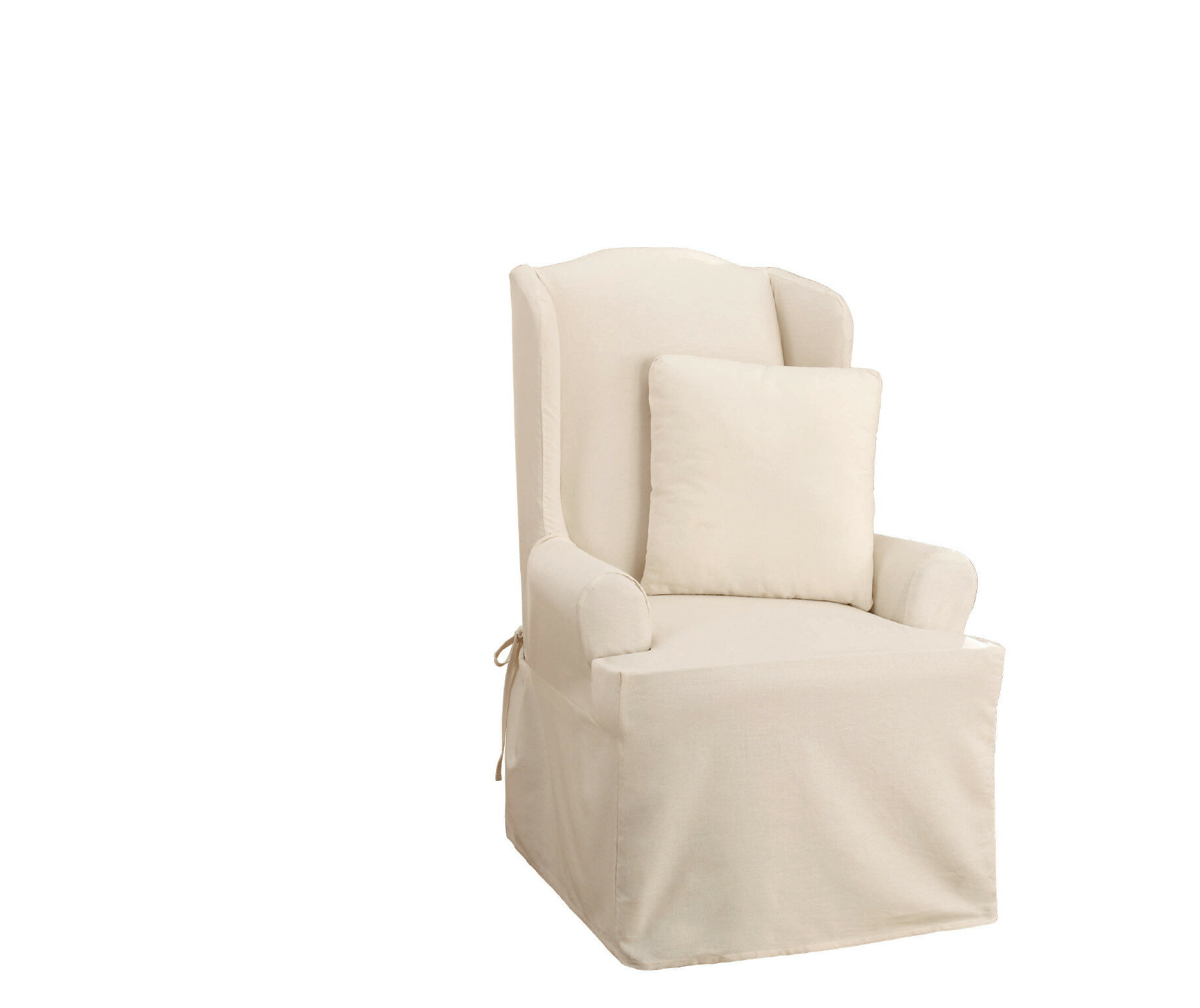 reveal slipcover my a to make covers wingback wing chair how img