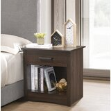 Resaca 1 Drawer Nightstand by Rosecliff Heights