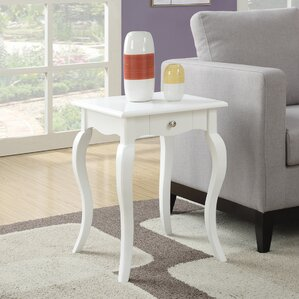 Hobart End Table With Storage by Charlton Home