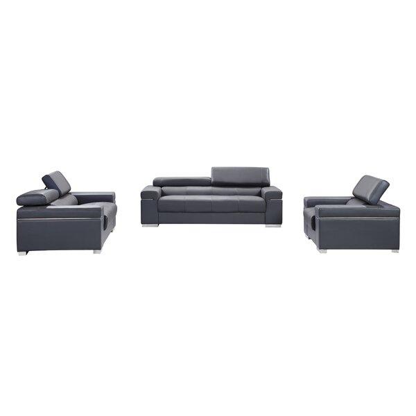 Wade Logan Orlando Configurable Living Room Set U0026 Reviews | Wayfair