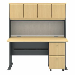 Series A Desk With Hutch by Bush Business Furniture Read Reviews