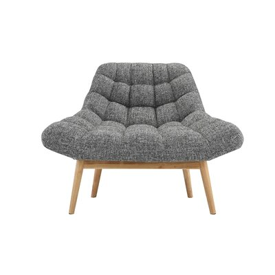 Trule Teen Benedict Lounge Chair Upholstery: Light Gray