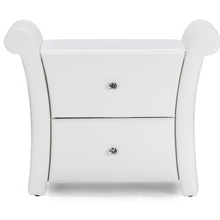 Lehner 2 Drawer Nightstand by Mercer41
