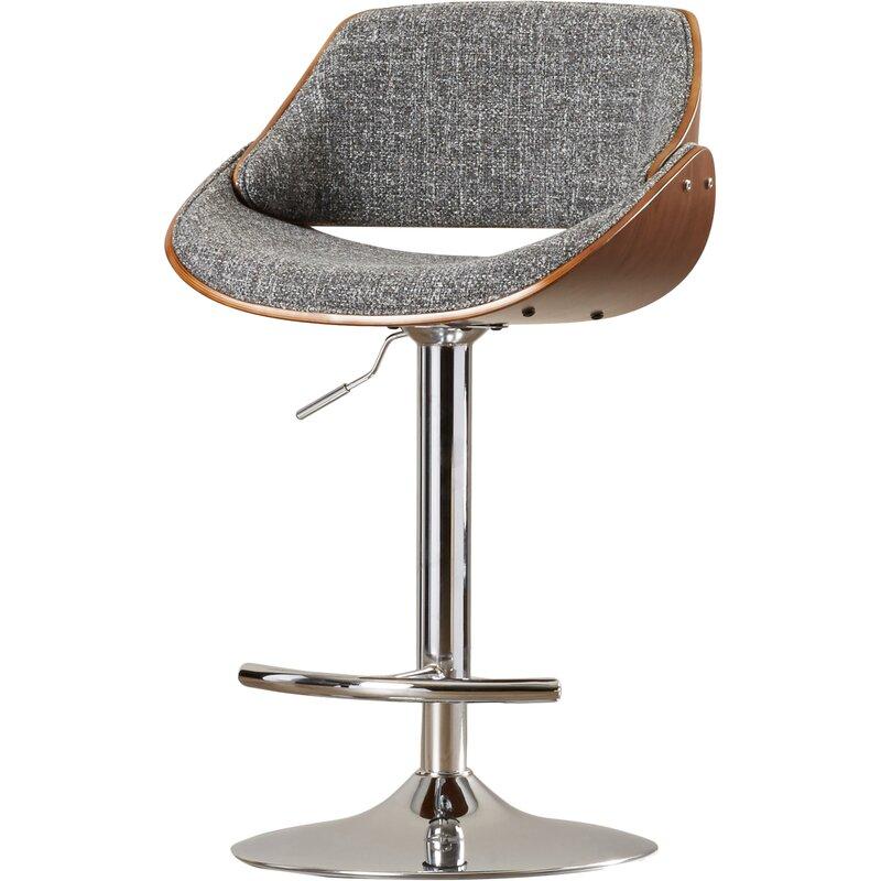 Pleasant Arno Adjustable Height Swivel Bar Stool Pdpeps Interior Chair Design Pdpepsorg