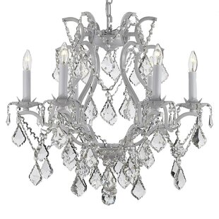Keane 6-Light Candle Style Chandelier by House of Hampton