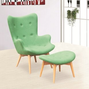 Grant Lounge Chair and Ottoman