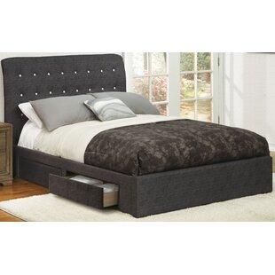 Latitude Run Kunz Upholstered Storage Platform Bed