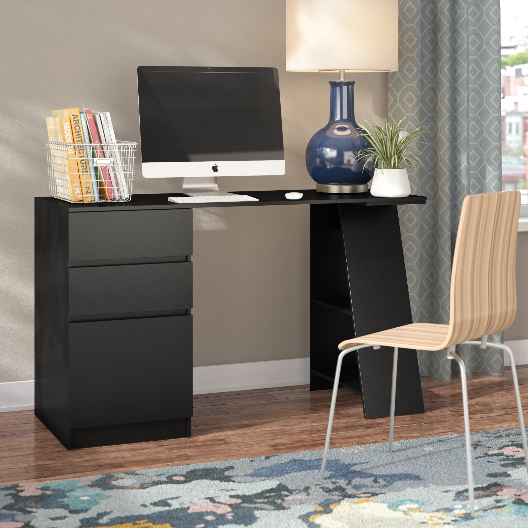Brayden Studio Fearn Computer Desk U0026 Reviews | Wayfair