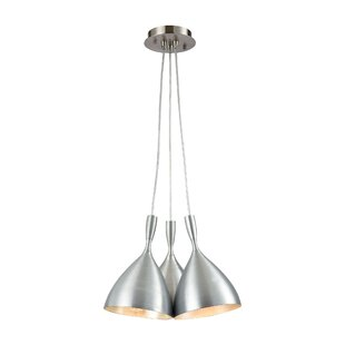 Bannon 3-Light Pendant by Brayden Studio
