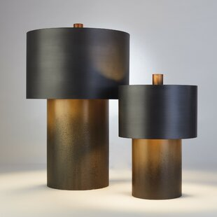 Buy clear Tortoise Drum 17'' Table Lamp By Studio A Home