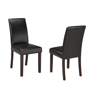 Schueler Upholstered Dining Chair (Set of 2) Charlton Home