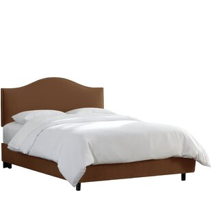 Beachcrest Home Regal Upholstered Panel Bed