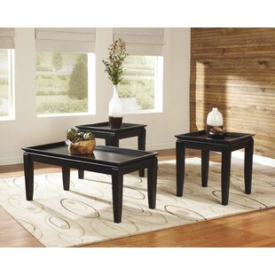 Buy clear Fenton 3 Piece Coffee Table Set By Signature Design by Ashley