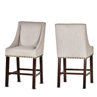 Ashkum 24 Bar Stool (Set of 2) Charlton Home