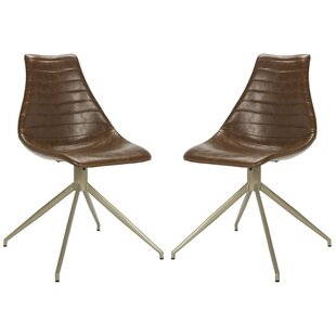 Sรฉbastien Swivel Dining Chair (Set of 2) by 17 Stories
