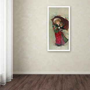 99ff8d5f5ab4  Little Girl Dog  Wall Art on Wrapped Canvas