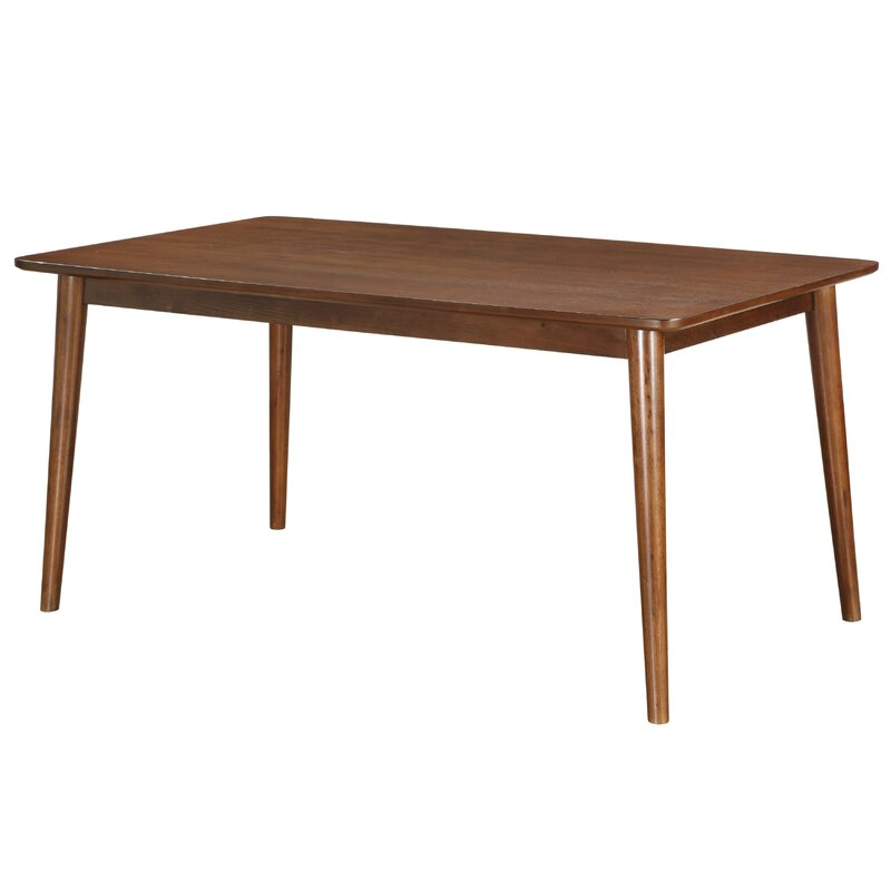 mid century modern dining table. Ripton Mid-Century Modern Rectangular Dining Table Mid Century N