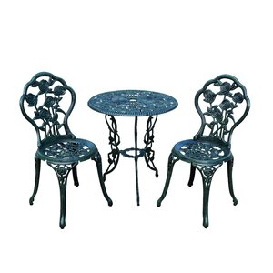 Governor Traditional 3 Piece Bistro Set