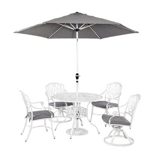Nori 7 Piece Dining Set with Cushions