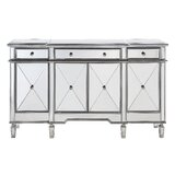 Contempo 60 Wide 3 Drawer Sideboard by Willa Arlo Interiors