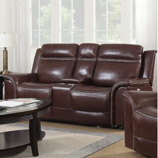 Ruvalcaba Leather Reclining Loveseat