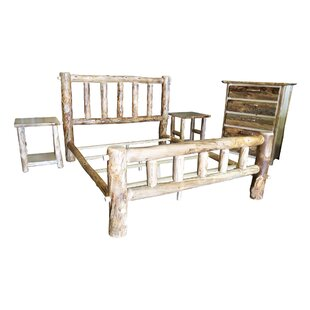 Rustic Arts� Platform 3 Piece Bedroom Set by Mountain Woods Furniture