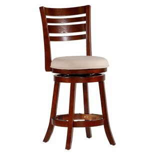 Orourke 24 Swivel Bar Stool Millwood Pines