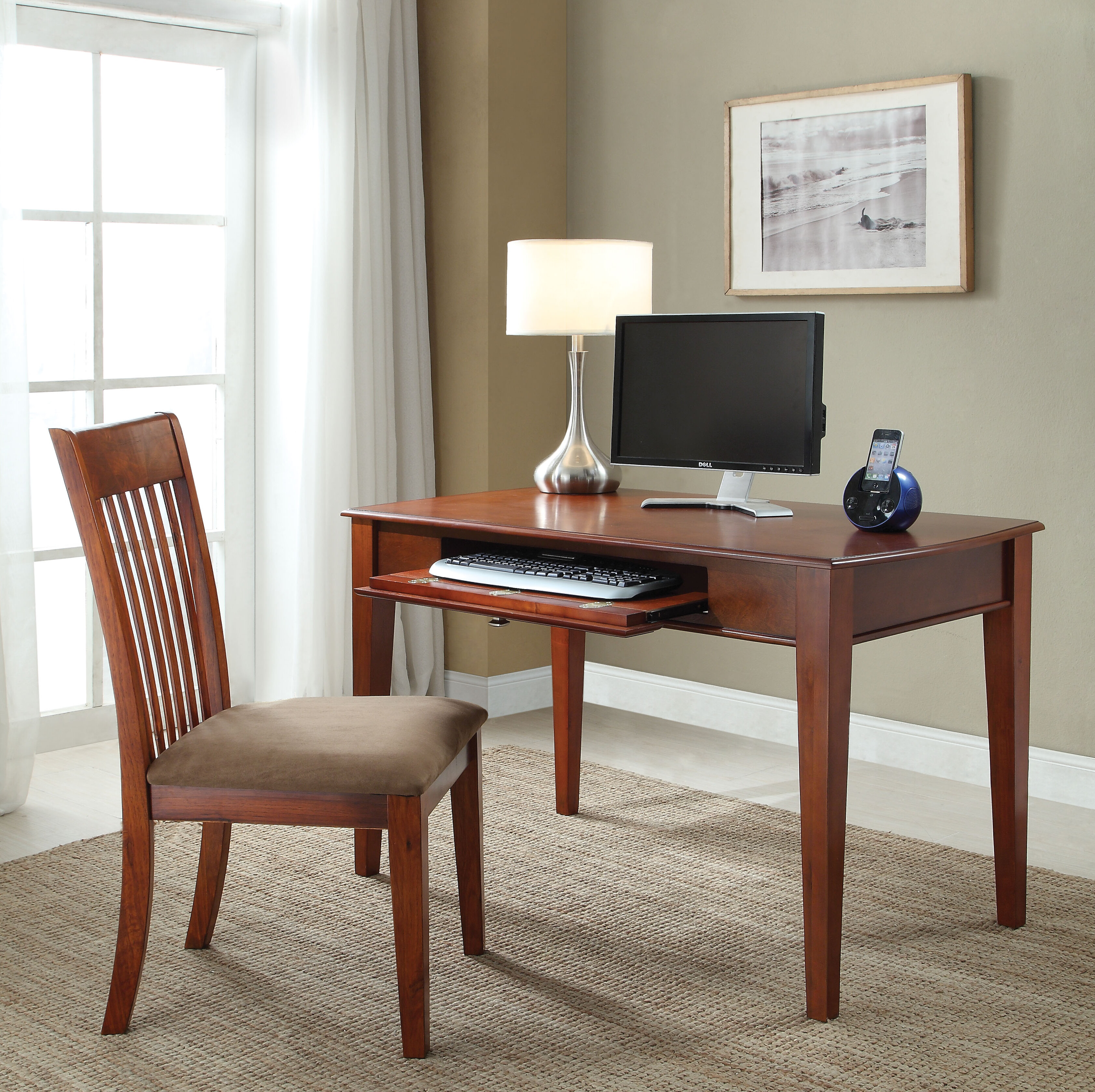 Chair And Keyboard Tray Desks You Ll Love In 2021 Wayfair