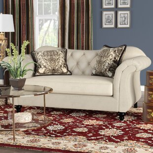 Indira Premium Tufted Upholstered Loveseat