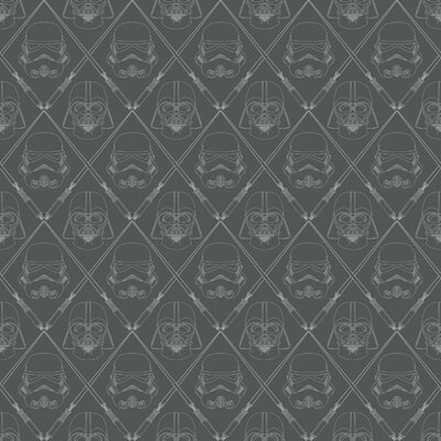 Hessler Star Wars 16 5 L X 20 W Geometric And Stick Wallpaper Roll