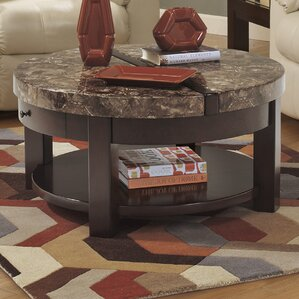 Evergreen Coffee Table with Li..