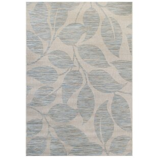 Garney Blue/Gray Indoor/Outdoor Area Rug