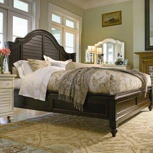 Steel Magnolia Panel Bed By Paula Deen Home