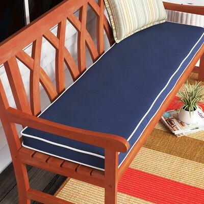 Birchlaneindoor Outdoor Sunbrella Seat Cushion Fabric Navy Blue Size 3 H X 48 W X 19 D Dailymail