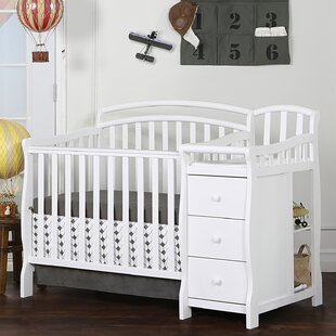 Best Choices Caso 3-in-1 Convertible Crib and Changer Combo By Dream On Me
