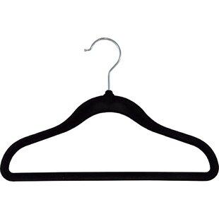 Best Price Cabrera Kid Slimline Plastic Hanger (Set of 25) By Rebrilliant