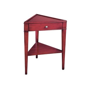 Straight Triangle End Table