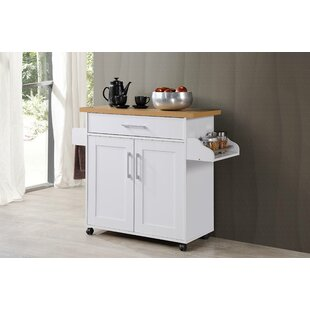 Crisfield Kitchen Cart by Charlton Home