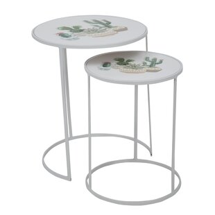 Shonna 2 Piece Nest Of Tables By Happy Larry