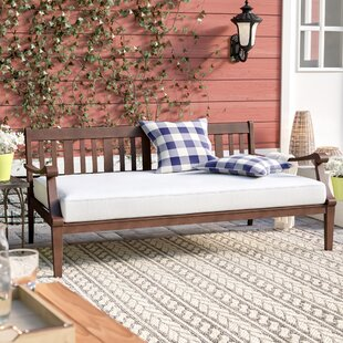 Dowling Daybed With Cushion by Three Posts 2019 Sale